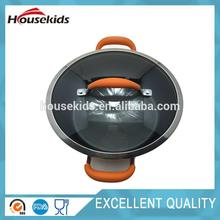 Hot selling fry pan with non stick for wholesales