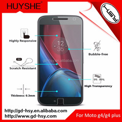New Premium Phone Accessories Tempered Glass Protector for Moto G4 Plus 5.5'' Featuring Remove Air Bubbles From Screen Film