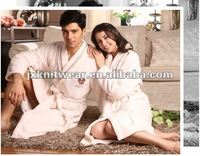 beautiful all colors couple gown thick fleece sexy pajamas in winter