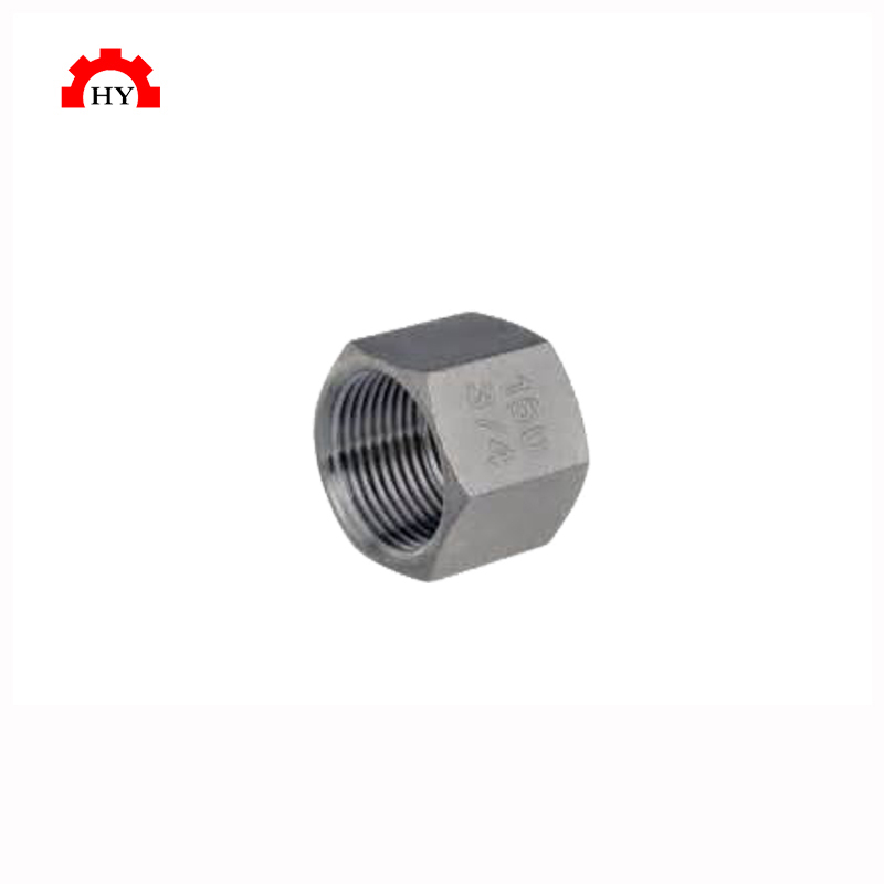 Factory direct selling high pressure stainless steel 304 large threaded pipe end cap