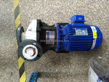 Magnetic drive filter pump for water treatment plant