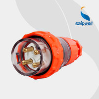Factory Outlet Saipwell High Quality IP66 32 Amp Australian Industrial Plug 56P432
