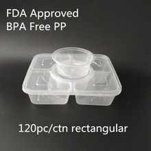 BPA Free New PP Fast Plastic Food Box /cup Chinese Food Grade Luch Containers Plastic
