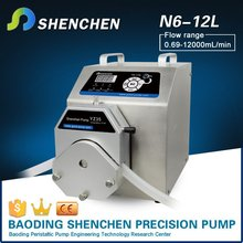 Semi automatic measuring pump for grease,peristaltic digital pump for transmittal,intelligent process pump for liposuction