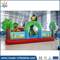 Little bear inflatable jumping bouncer cartoon bouncy castle for kids amusement park