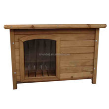 SDD006 pet cage new arrival simple designed eco-friendly MDF house for pets wooden dog house