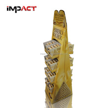 Competitive Price Corrugated Advertising Display Stand for Chocolate