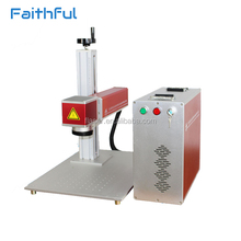 Metal,watches,camera,auto parts,buckles portable marking machine 20w/ fiber laser marking machine for sale