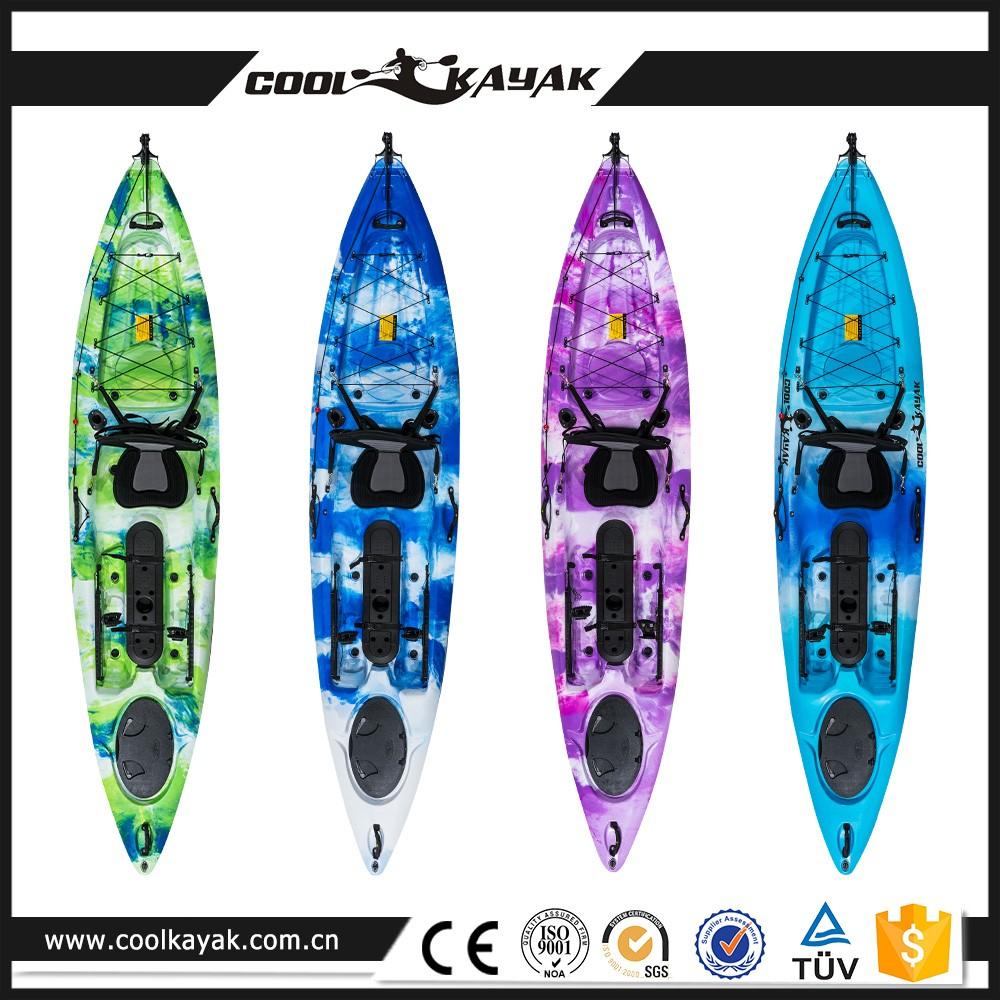 Polyethylene fishing kayaks foot pedal buy fishing for Fishing kayak with foot pedals