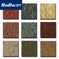 Baidai Granite texture paint for exterior wall design/exterior house paint color
