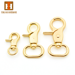 Trade Assurance Wholesale custom dog hook metal trigger swivel snap hook