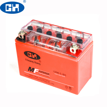 Long Working Life 12V 6.5Ah Gel Cell Motorcycle Battery