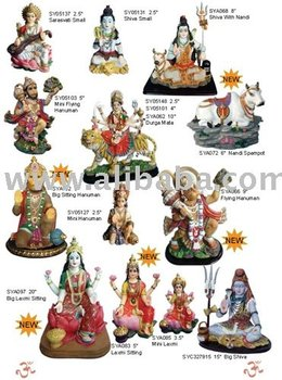 Polyresin Indian God, Pooja Product (Murtis Products)