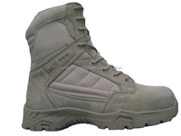 Men's outdoor sport hiking boot shoes/military ankle riding boot