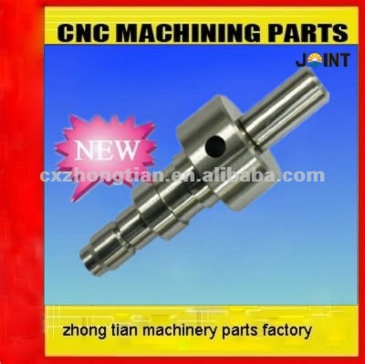 CNC machining parts with heat treatment.