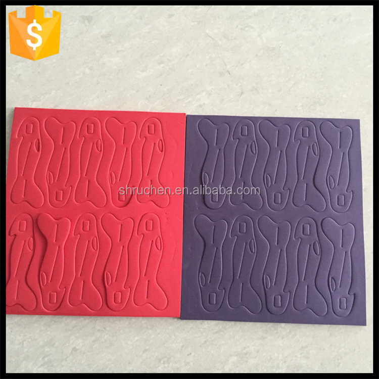 Best quality nice looking eva crosswise embossed foam