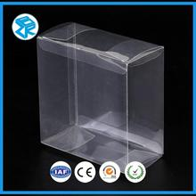 Custom Creative Jewelry Packaging Clear Plastic Zipper Jewelry Box Packaging
