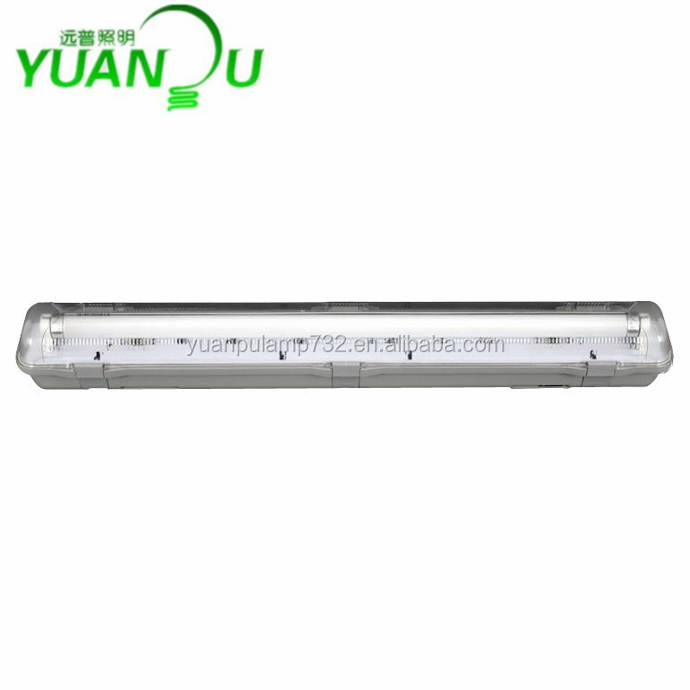 Quality LED t8 dampproof light fixtures ip65 fluorescent
