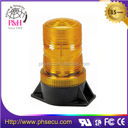 amber emergency strobe beacon light