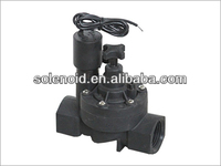 1'' electric plastic irrigation woodward solenoid valve