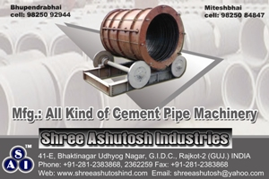 Concrete spun pipe making machines