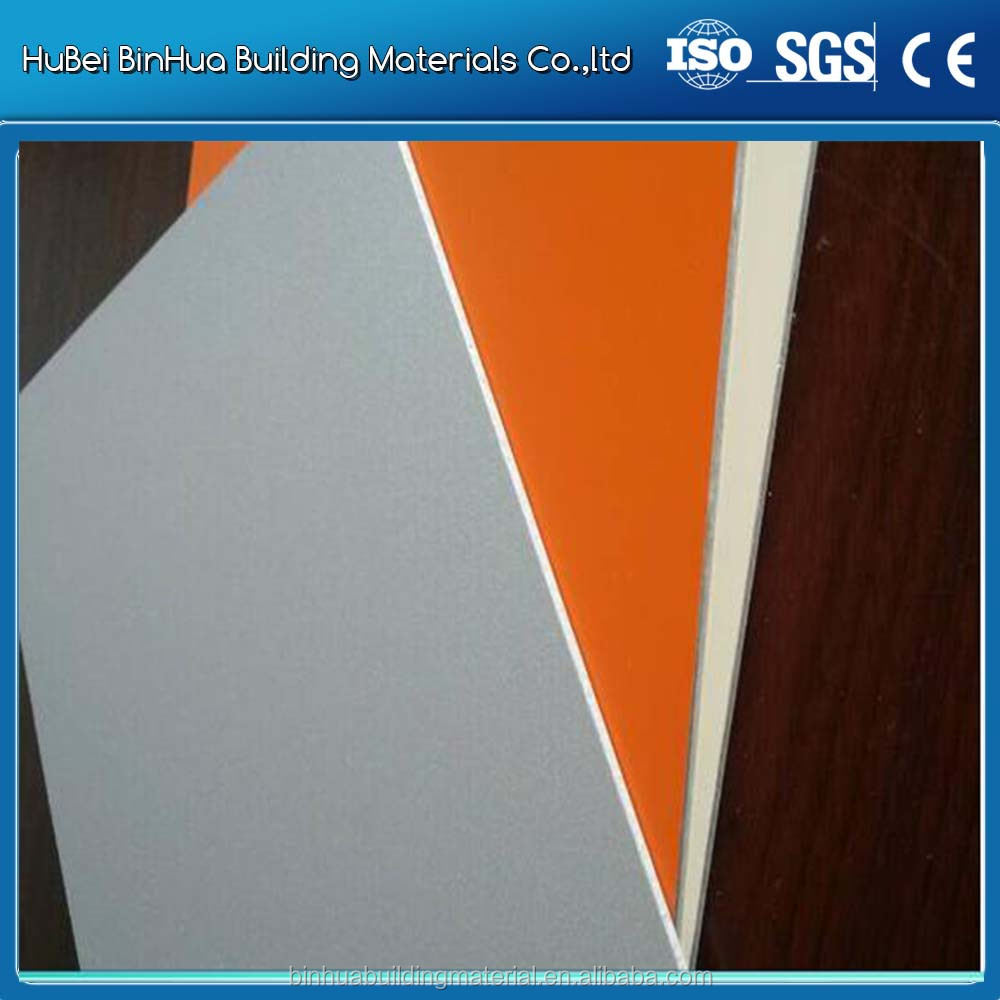 exterior size 5mm aluminium composite panel ACP/ACM modern building facade materials