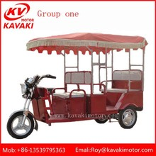 Electric Battery Operated 8 Seats Tricycle For Handicapped