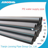 ISO4427 UV protection Fire Water underground hdpe pipe