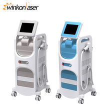 2018 most popular 2500W output high power laser diode 808nm hair removal machine
