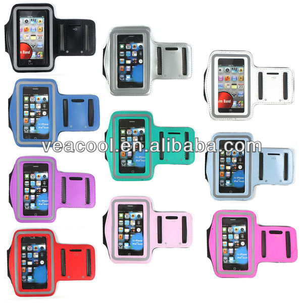 Premium Sports Workout Gay Armband Case Cover For Apple iphone 4 4G 4S 3G 3GS