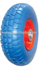 Flat free tyre (3.00-4) Pu foam wheel & tire (3.00-4)