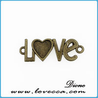 Love Charms alloy New Exclusive Line - High Quality bronze Plated - Quantity Options