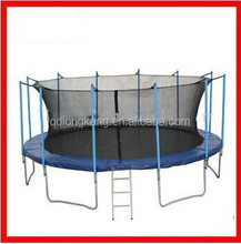Trampoline bed, 20ft trampoline, single bungee jumping trampoline for sale