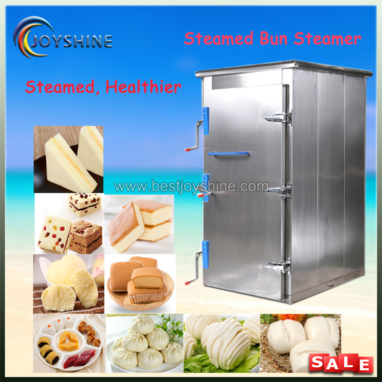 Low Cost Large Capacity Industrial Electric Steamed Bun Steamer