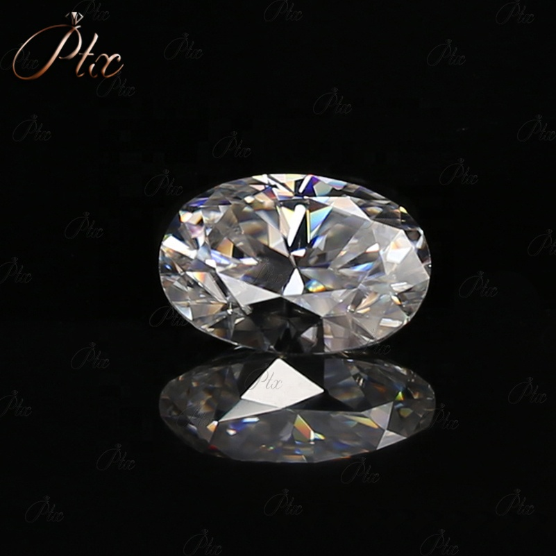 Hot Sale DEF VVS Oval Cut Moissanite Loose Gemstone