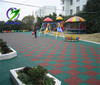 Soft rubber flooring mat kindergarten outdoor playground floor