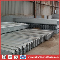 Q235,Q345 guard rails and accessories for roads and freeways