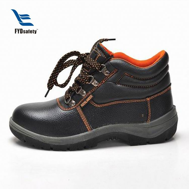 Cheap Industrial Men Pu Outsole Safety Work Shoes