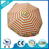 Famous Brand Windproof Beach umbrella Big oriental garden parasols