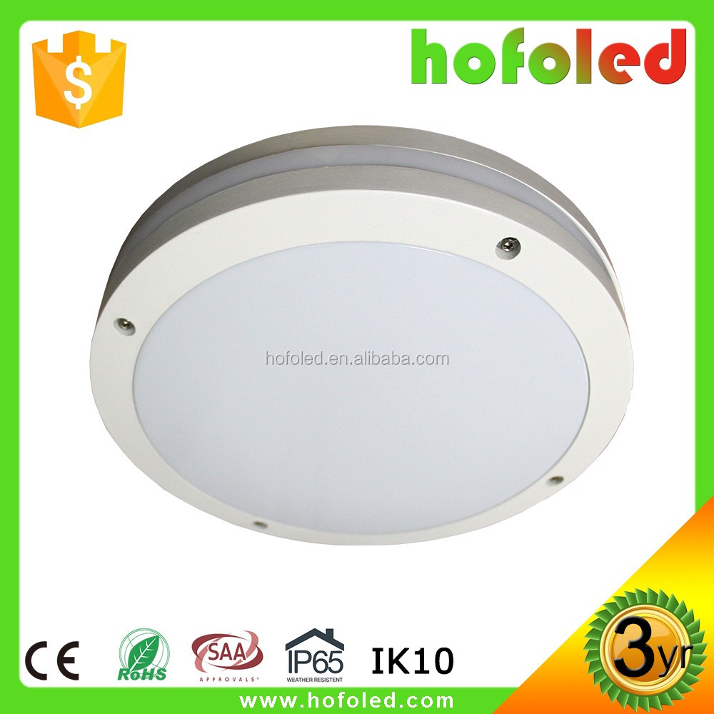 IP65 motion sensor low decay led ceiling light