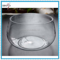 Hot Sale Large Decorative Sphere Glass Fish Bowl Clear Fish Tank