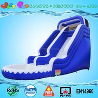 Cheap inflatable swimming pool slide used commercial grade inflatable water slides with sea wave