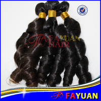 Aliexpress wholesale 100% virgin cheap unprocessed brazilian spring wave hair hollywood virgin remy
