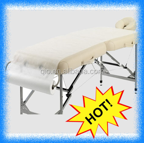 the factory direct selling disposable massage table couch cover paper rolls