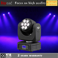 China new price 7*12w 4in1 rgbw led mini beam stage light moving head lighting for sale