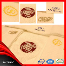 High quality 100% cotton white weave kitchen recycled cotton towels