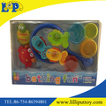 Funny cartoon bathing toy set with window box