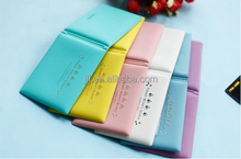Marca dragon ultra-thin personality candy color wallet