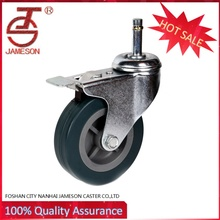 2'3'4' high quality swivel PU castor wheel