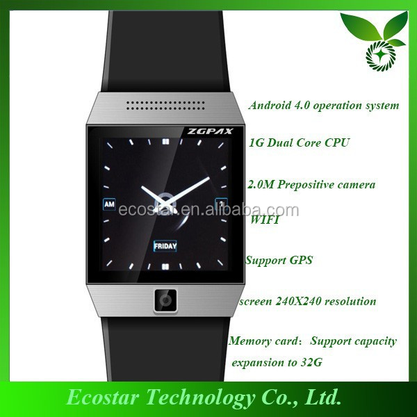 New Design wholesale 3g smart watch latest wrist watch mobile phone